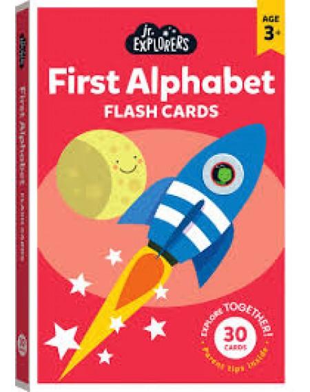 Junior Explorers Large Flashcards: Alphabet