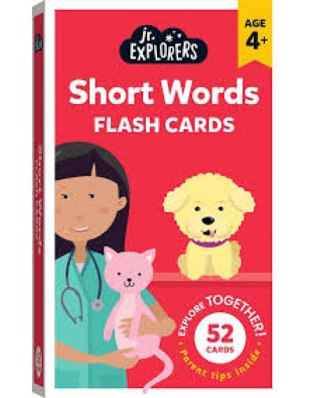 Junior Explorers Flashcards: Short Words