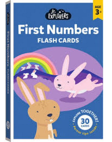 Junior Explorers Large Flashcards: First Numbers