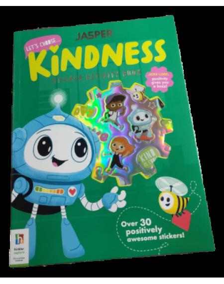 Jasper: Let's Choose ... Kindness Sticker Activity Book