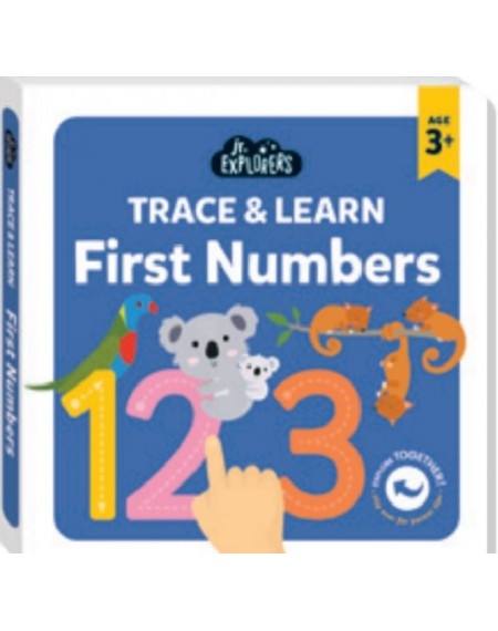 Junior Explorers:Trace & Learn First Numbers
