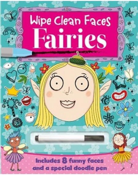 Fairies Wipe Clean Faces