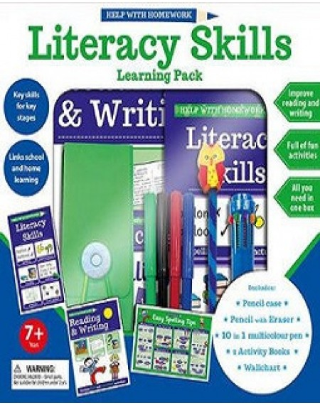 7+ Help with Homework: Literacy Skills Learning Pack