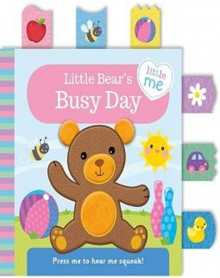 Little Me Cloth Books: Little Bear's Busy Day