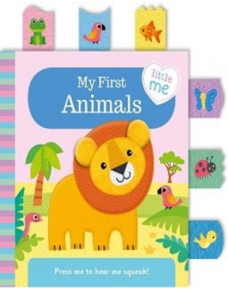 Little Me Cloth Books: My First Animals
