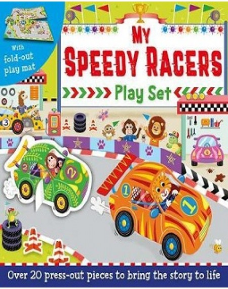 My Speedy Racers Play Set