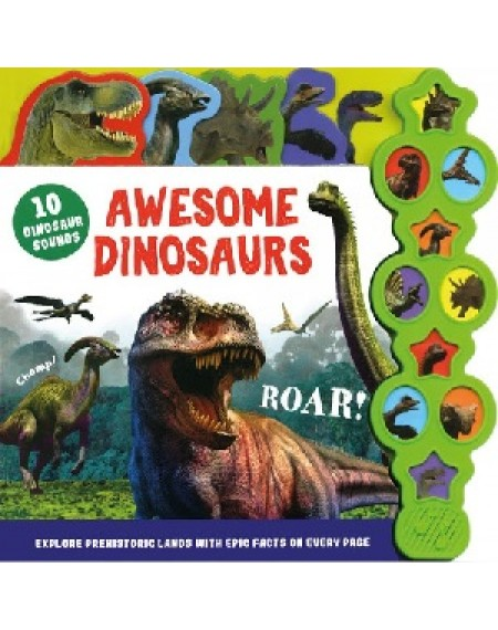 10 Sounds Tabbed: Awesome Dinosaur