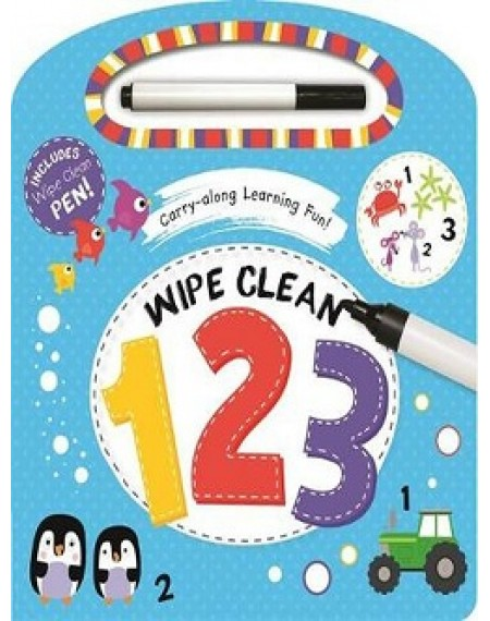 Wipe Clean Carry And Learn : 123
