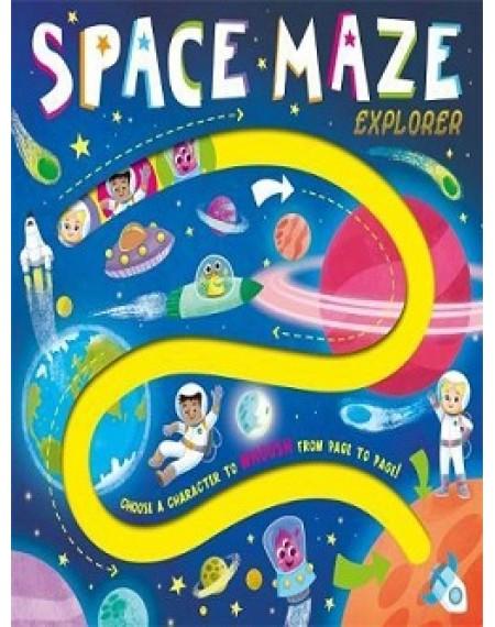 A-Maze Board : Space Maze Explorer