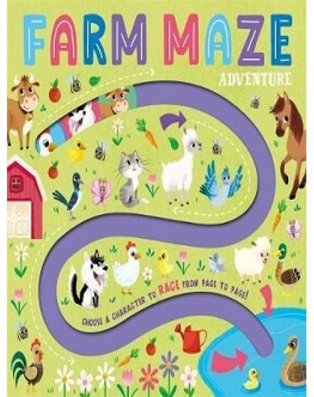 A-Maze Board : Farm Maze Explorer