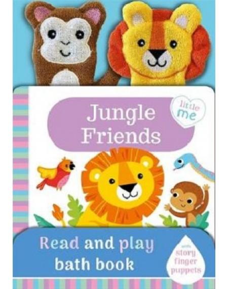 Little Me Best Friend Bath Book : Jungle Friends
