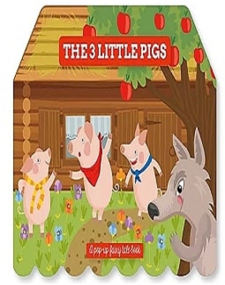 Pop Up Fairy Tale: The 3 Little Pigs