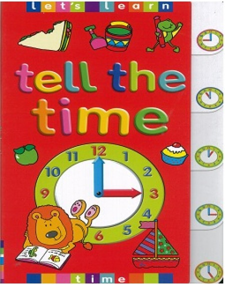 Board Book : Tell the Time