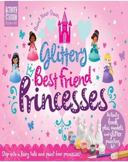 Activity Box Set : Glittery Best Friend Princesses
