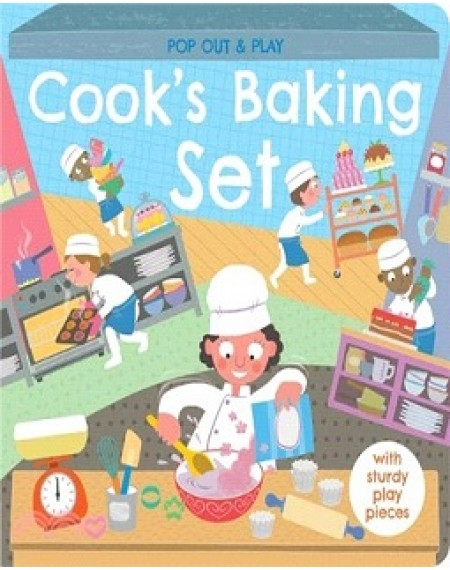 Pop Out and Play : Cooks Baking Set
