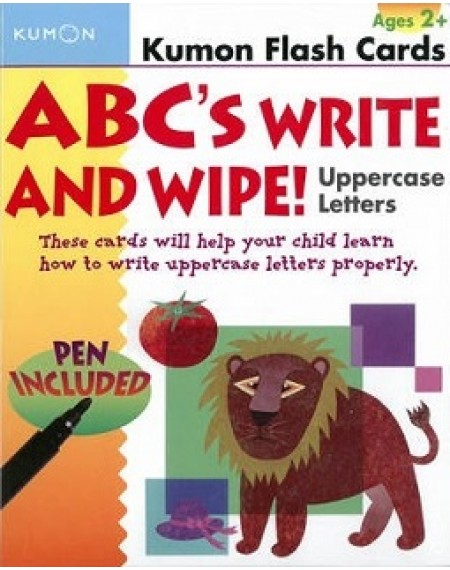 Flash Cards : ABC write and wipe : Uppercase