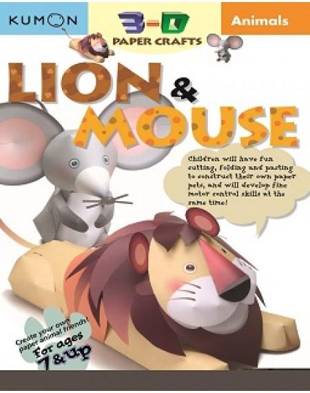 3-D Paper Crafts (Lion & Mouse)