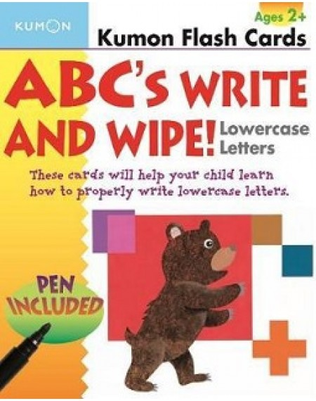Flash Cards : abc's write and wipe : Lowercase