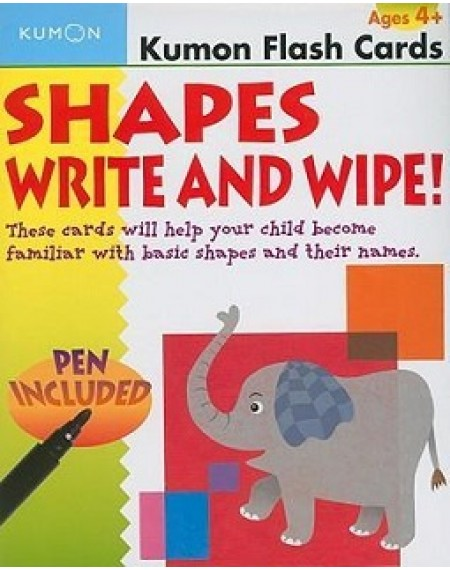 Flash Cards : Shapes Write & Wipe