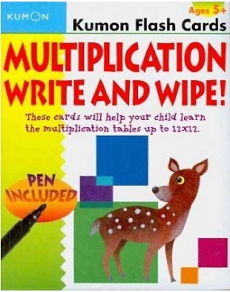 Flash Cards : Multiplication Write & Wipe