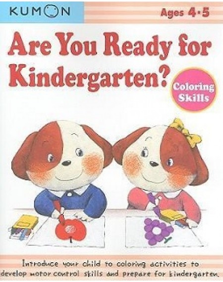 Are You Ready For Kindergarten ? Coloring Skills