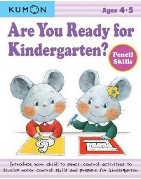 Are You Ready For Kindergarten ? Pencil Skills