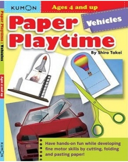 Paper Playtime : Vehicles