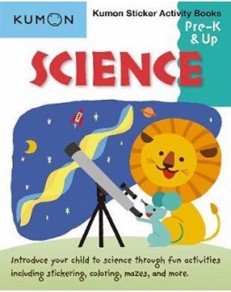 Science Sticker Activity Book Pre K & Up