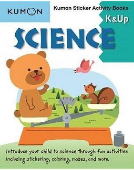 Sticker Activity Book : Science K & Up