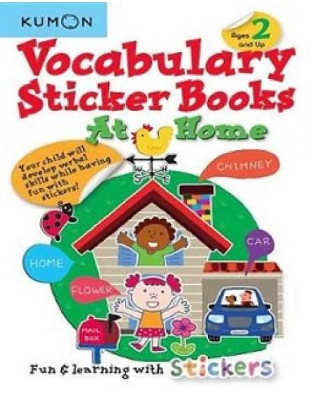 At Home Vocabulary Sticker Books