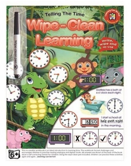 Wipe Clean Learning : Telling The Time