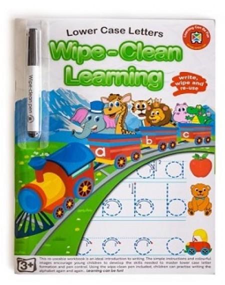 Lower Case Letters (Wipe-Clean Learning)