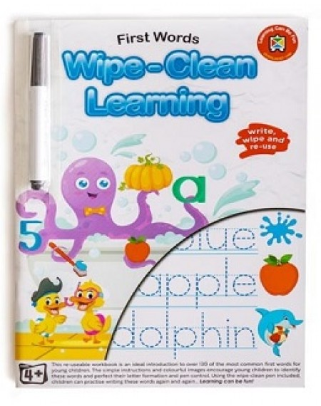 First Words Wipe Clean Learning