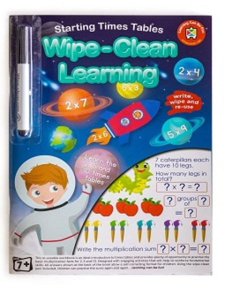 Starting Times Tables Wipe-Clean