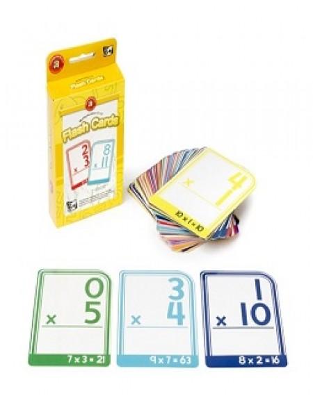 Multiplication 0-12 Write & Wipe Flash Cards