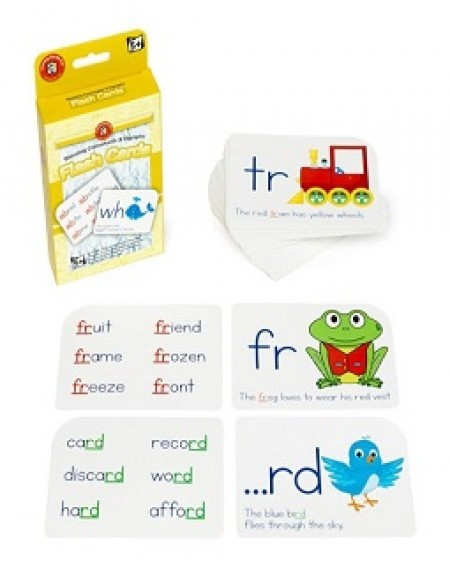 Blending Consonants& Digraphs Flashcards
