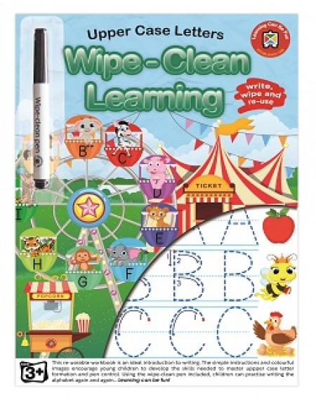 Letters (Upper Case) Wipe-Clean Learning