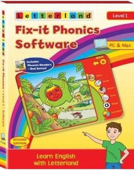 Fix-it Phonics - Level 1 (2nd Edition) Software