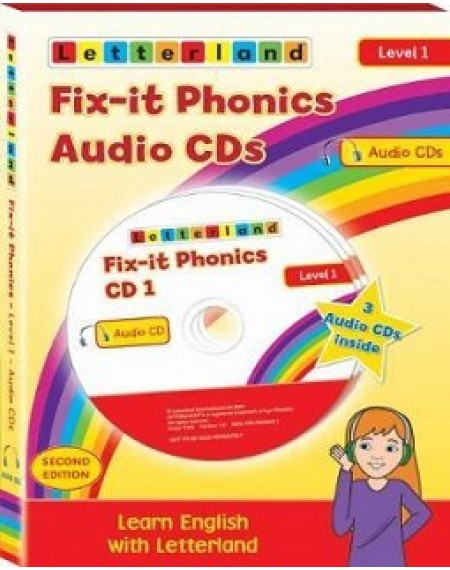 Fix-it Phonics - Level 1 (2nd Edition) Audio CD Pack
