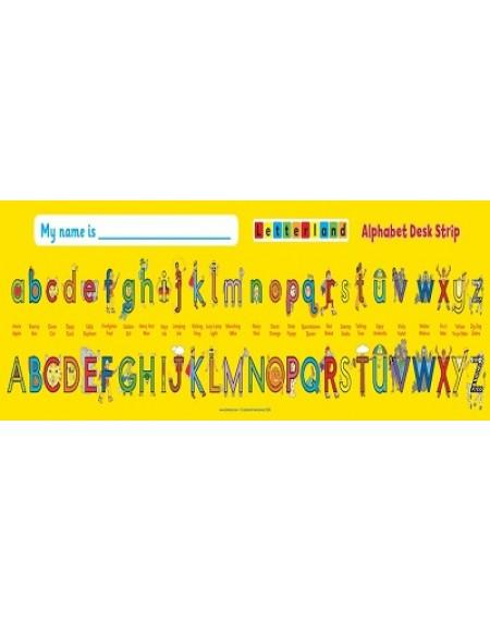 :Alphabet Desk Strip (pack of 10)