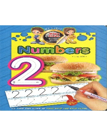 My First Wipe Clean Board Book: Numbers