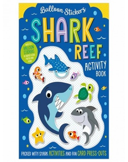 Balloon Stickers Shark Reef Activity Book
