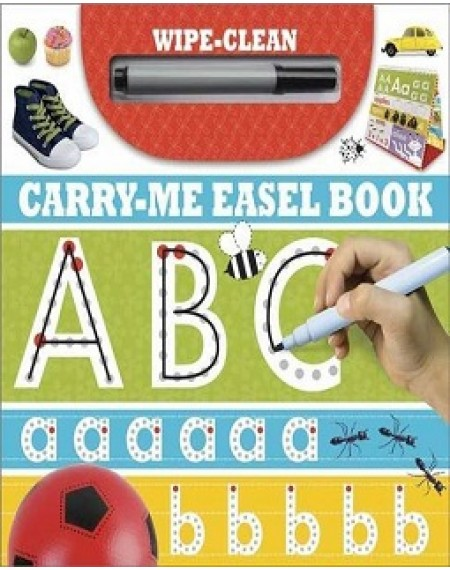 Wipe Clean Carry Me Easel Book ABC