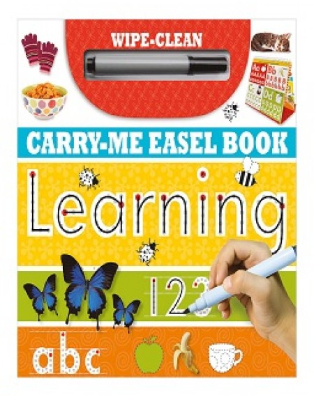 Wipe Clean Carry Me Easel Book Learning