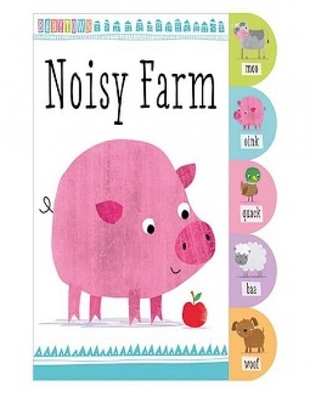 Babytown Tabbed Noisy Farm