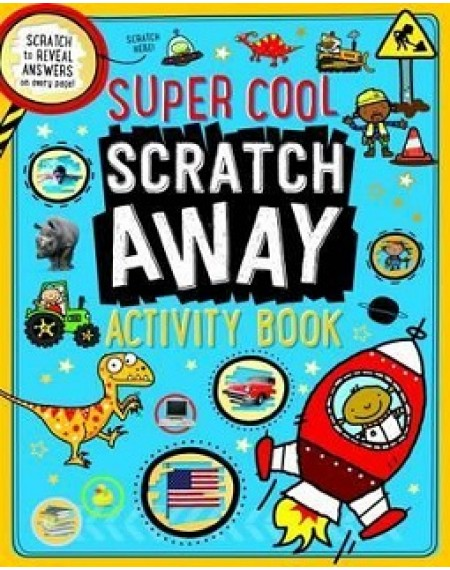Super Cool Scratch Away Activity Book