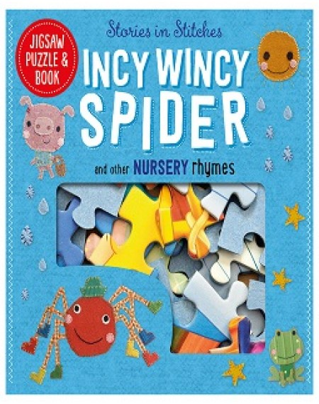 Jigsaw Puzzle And Book : Incy Wincy Spider Set