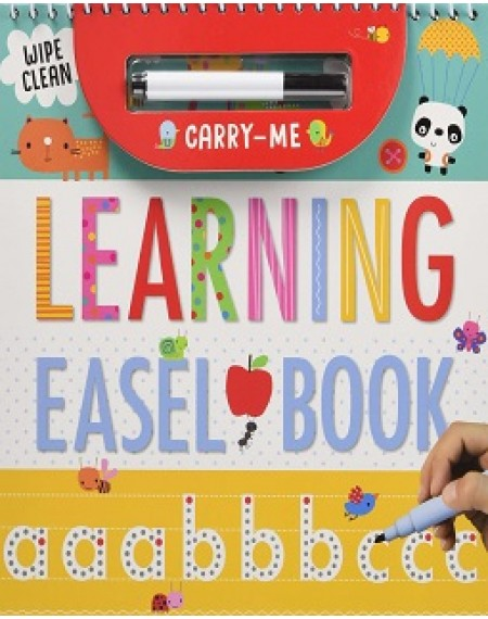 Carry Me Easel Book Wipe Clean: Learning