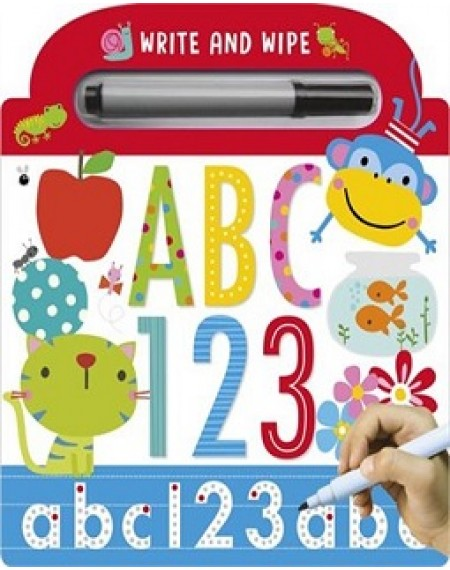 ABC 123 Write and Wipe