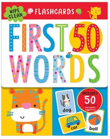 Flashcard : First 50 Words